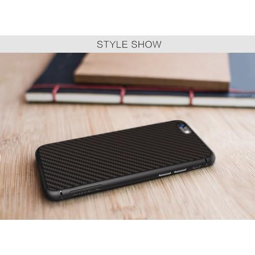 Ốp lưng iPhone 6 Plus Fiber Carbon chính hãng Nillkin