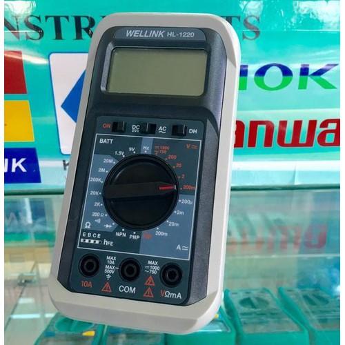 Đồng hồ đo điện tử Wellink HL-1220