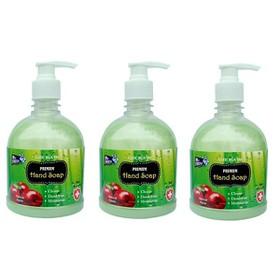 Bộ 3 bình nước rửa tay Mr Fresh Hàn Quốc 500ml Hương Táo Mỹ - BH298