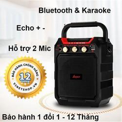 {FREESHIP} Loa Di Động Karaoke Bluetooth Kiêm Trợ Giảng  Haoyes K99