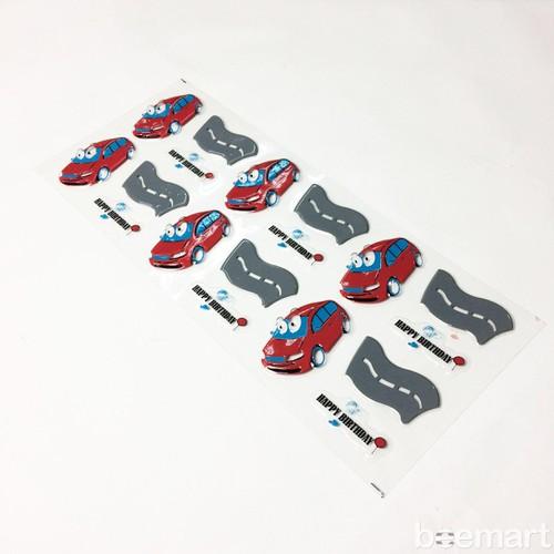 Khuôn socola 2D 18 hình ô tô