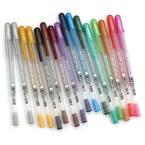 Bút nhũ sakura chọn màu