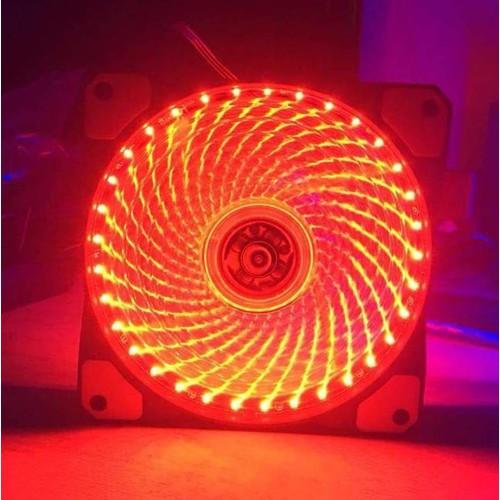 Quạt tản nhiệt case 120mm 15 Led siêu sáng, màu đỏ - 5890885 , 12400276 , 15_12400276 , 55000 , Quat-tan-nhiet-case-120mm-15-Led-sieu-sang-mau-do-15_12400276 , sendo.vn , Quạt tản nhiệt case 120mm 15 Led siêu sáng, màu đỏ