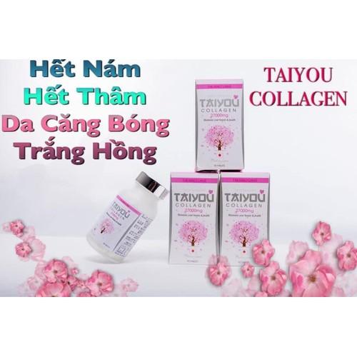 viên uống Trắng da Taiyou collagen
