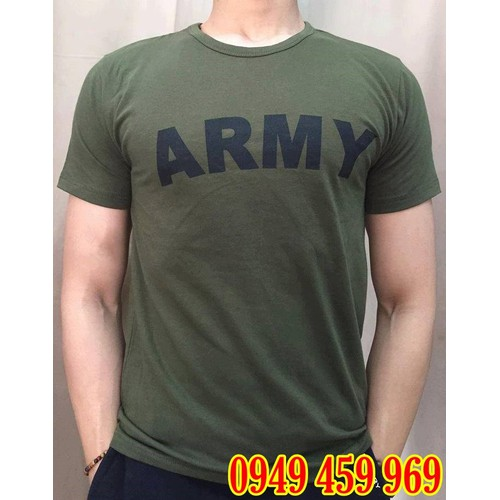 Áo Thun Lính Army - Áo Thun Nam