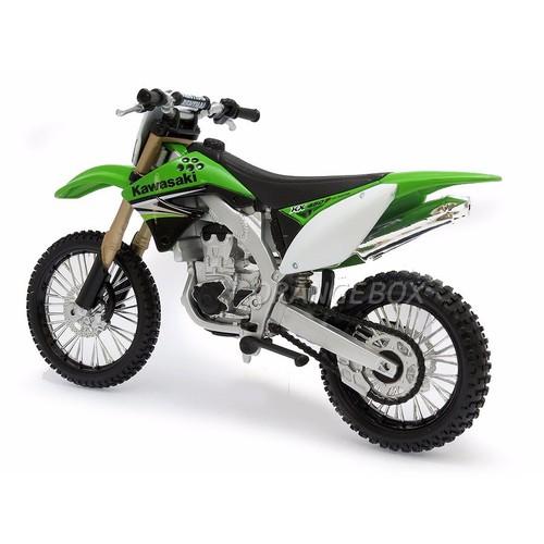 Mô hình moto Kawasaki KX450F tỉ lệ 1:12