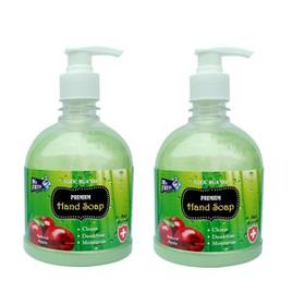 Bộ 2 bình nước rửa tay Mr Fresh Hàn Quốc 500ml Hương Táo Mỹ - BH297