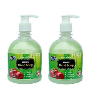 Bộ 2 bình nước rửa tay Mr Fresh Hàn Quốc 500ml Hương Táo Mỹ - BH297 thumbnail