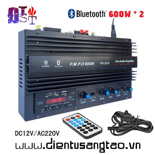 Bộ khuếch đại âm thanh Bluetooh PA-90A 2x600W DC12V AC220V - 5896411 , 12407814 , 15_12407814 , 1200000 , Bo-khuech-dai-am-thanh-Bluetooh-PA-90A-2x600W-DC12V-AC220V-15_12407814 , sendo.vn , Bộ khuếch đại âm thanh Bluetooh PA-90A 2x600W DC12V AC220V