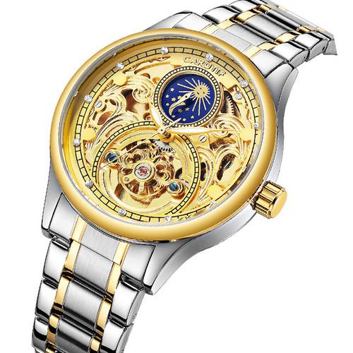 Đồng hồ lộ máy Automatic Carotif phong cách cổ điển - Mã số: DH1858