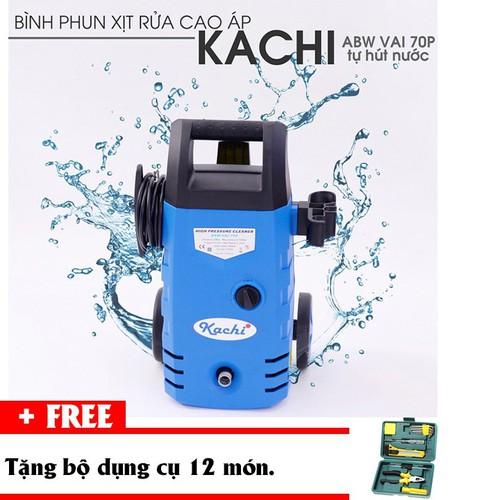Máy xịt rửa cao áp Kachi MK70 tặng bộ dụng cụ 12 món