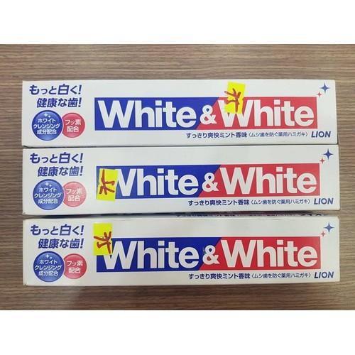 Kem Đánh Răng White And White