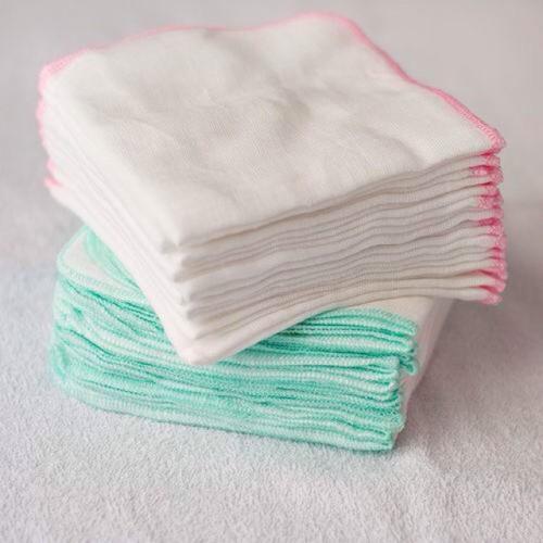 Combo 10 khăn gạc nhật Kim Ngân 4 lớp loại dày