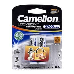 Vỉ 2 Pin Sạc Camelion 2700 mAh 1.2V AA cho máy ảnh, thiết bị điện tử