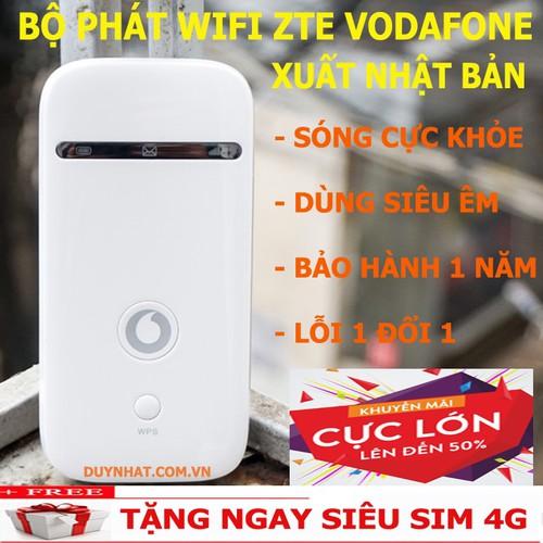 BỘ PHÁT WIFI 3G 4G ZTE VODAFONE KHÔNG DÂY - TẶNG SIM VINA 120GB - 5896066 , 12407287 , 15_12407287 , 750000 , BO-PHAT-WIFI-3G-4G-ZTE-VODAFONE-KHONG-DAY-TANG-SIM-VINA-120GB-15_12407287 , sendo.vn , BỘ PHÁT WIFI 3G 4G ZTE VODAFONE KHÔNG DÂY - TẶNG SIM VINA 120GB