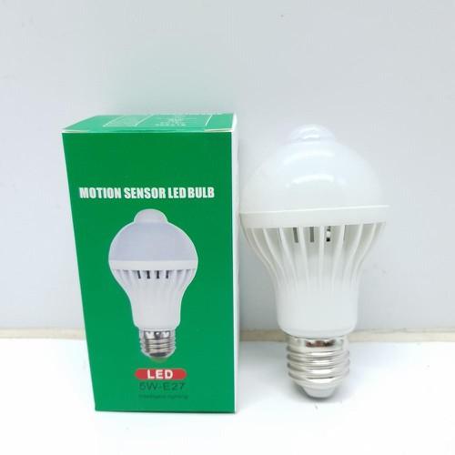 Bóng đèn Led cảm ứng thông minh 5W tự động tắt mở