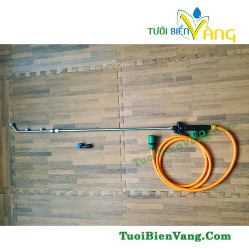 Bộ cần rút inox dài 1.2m - dây dài 5m