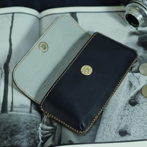 Bao da đeo hông cho điện thoại  Iphone XS Plus Bao da Handmade VI0263