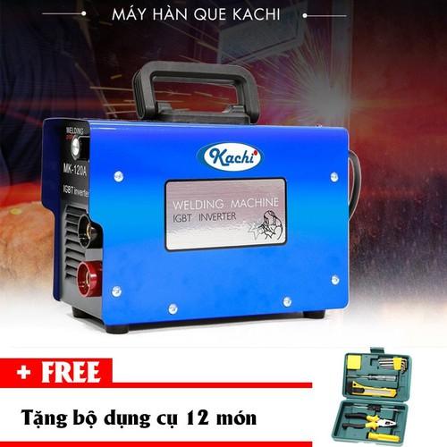 Máy hàn que điện tử Kachi MK-120A tặng bộ dụng cụ 12 món - 5896345 , 12407695 , 15_12407695 , 1299000 , May-han-que-dien-tu-Kachi-MK-120A-tang-bo-dung-cu-12-mon-15_12407695 , sendo.vn , Máy hàn que điện tử Kachi MK-120A tặng bộ dụng cụ 12 món