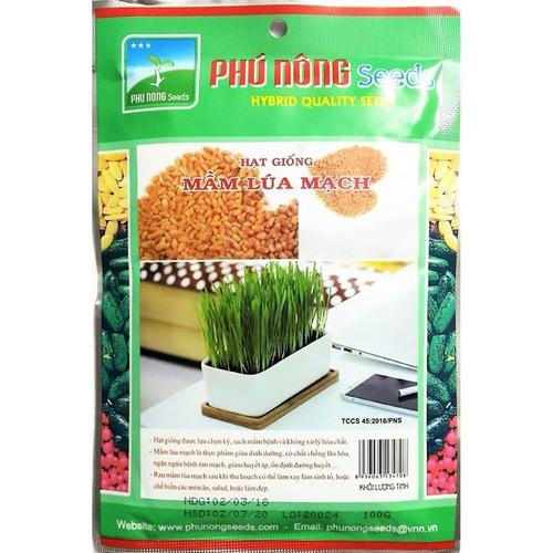 Hạt giống Mầm lúa mạch - 100g - 7859057 , 12439922 , 15_12439922 , 21000 , Hat-giong-Mam-lua-mach-100g-15_12439922 , sendo.vn , Hạt giống Mầm lúa mạch - 100g