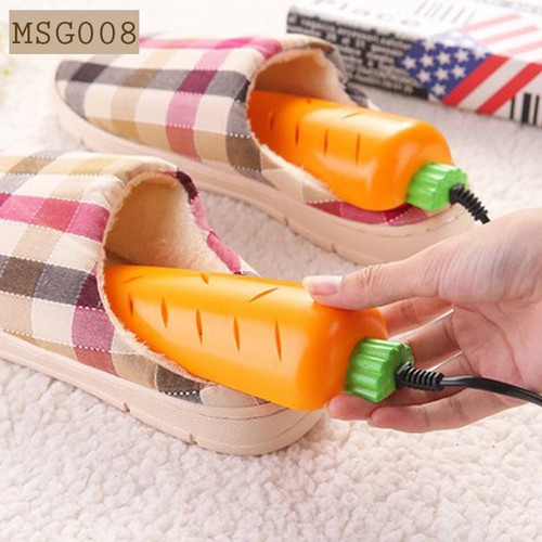 Máy sấy giày siêu tốc hình củ Carot MSG008 giúp giày luôn khô ráo - 5910036 , 12422033 , 15_12422033 , 49900 , May-say-giay-sieu-toc-hinh-cu-Carot-MSG008-giup-giay-luon-kho-rao-15_12422033 , sendo.vn , Máy sấy giày siêu tốc hình củ Carot MSG008 giúp giày luôn khô ráo