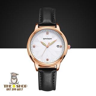 đồng hồ nữ dây da - đồng hồ nữ dây da B011 thumbnail