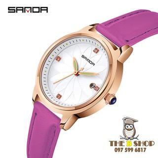 đồng hồ nữ dây da - đồng hồ nữ dây da B010 thumbnail