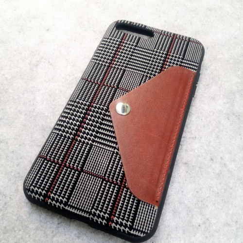 Ốp lưng Iphone 7 plus dạng vải có ngăn