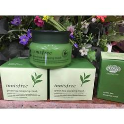 Mặt nạ ngủ trà xanh Innisfree Green Tea Sleeping Pack 80ml