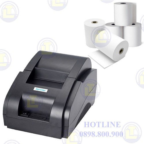 [GIÁ SOCK] Máy in hóa đơn giấy nhiệt khổ 58mm Xprinter XP-58IIH - 6833540 , 13545474 , 15_13545474 , 790000 , GIA-SOCK-May-in-hoa-don-giay-nhiet-kho-58mm-Xprinter-XP-58IIH-15_13545474 , sendo.vn , [GIÁ SOCK] Máy in hóa đơn giấy nhiệt khổ 58mm Xprinter XP-58IIH