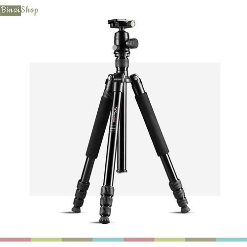 Chân đế tripod máy ảnh Weifeng WF-6620A 1.6m - 5917231 , 12430143 , 15_12430143 , 1580000 , Chan-de-tripod-may-anh-Weifeng-WF-6620A-1.6m-15_12430143 , sendo.vn , Chân đế tripod máy ảnh Weifeng WF-6620A 1.6m
