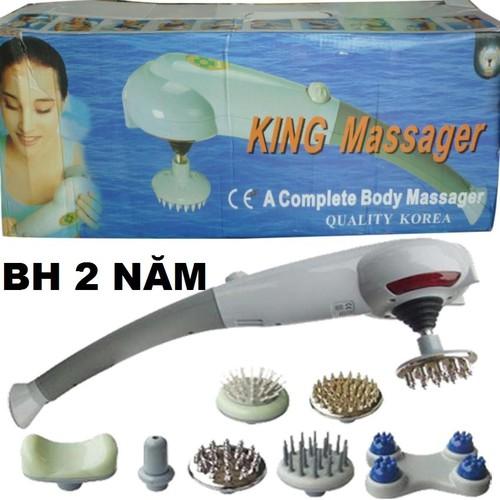 Máy Massage Cầm Tay 7 Đầu HÀN QUỐC King Massager