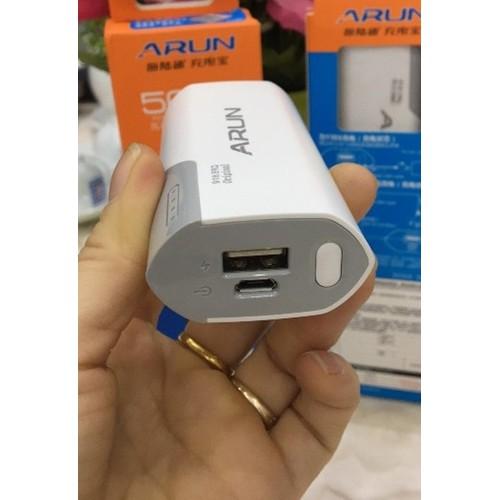 Pin dự phòng 5600 mah Arun Y38S