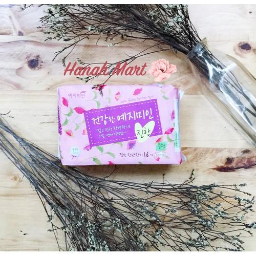 Băng vệ sinh thảo dược Yejimiin Plus cotton Rich ngăn ngừa viêm phụ khoa - mẫu mới 2019