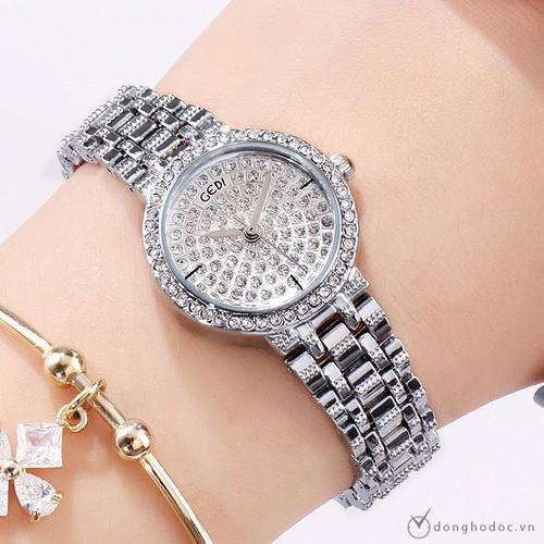 Đồng hồ nữ GEDI Nhỏ Xinh style KOREA + Tặng hộp và Pin