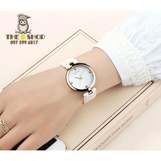 đồng hồ nữ dây da - đồng hồ nữ dây da B012 thumbnail