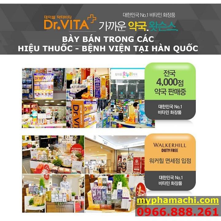 Kem Trị NÁM Và Tàn Nhang Dr.Vita Hàn Quốc - Cam Kết Mờ Nám 1