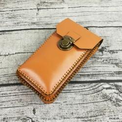 Túi đeo hông đựng điện thoại da bò handmade Zachi ZC103