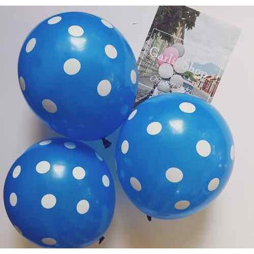 20 bóng chấm bi xanh dương cao cấp cực đẹp