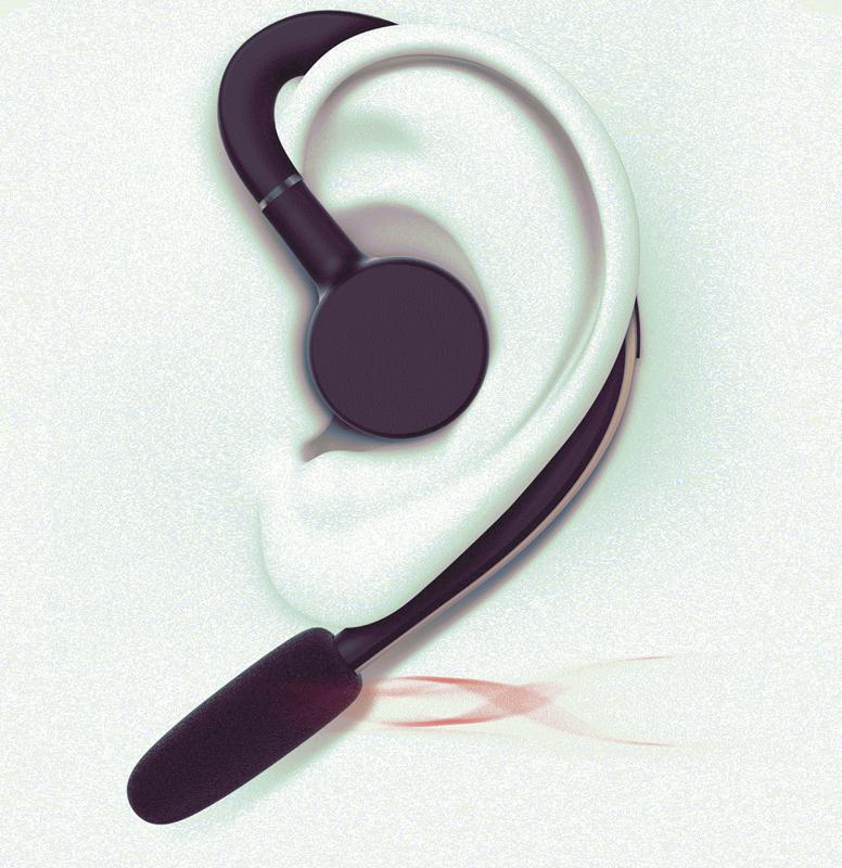 Tai nghe Bluetooth 360 nghe 2 tai PKCB S30 chống nước kèm mic 12
