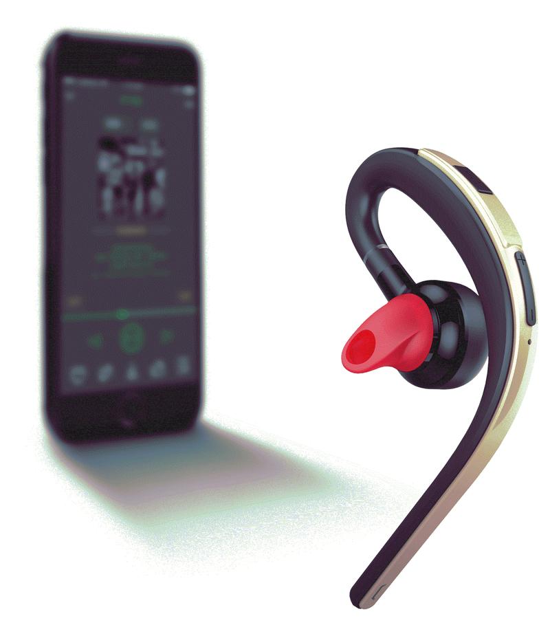 Tai nghe Bluetooth 360 nghe 2 tai PKCB S30 chống nước kèm mic 13