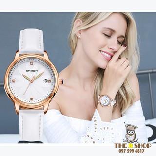 đồng hồ nữ dây da - đồng hồ nữ dây da B009 thumbnail