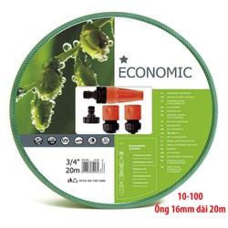 Trọn Bộ Ống Tưới,Vòi Tưới Cây Cellfast Economic 21mm Dài 20m NB-10-100
