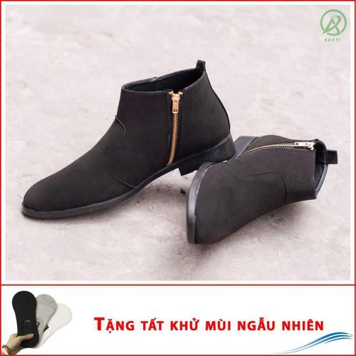 Giày chealsea boot nam kéo khóa đen buck CB521-DENBUCK-T - 6384586 , 12999662 , 15_12999662 , 420000 , Giay-chealsea-boot-nam-keo-khoa-den-buck-CB521-DENBUCK-T-15_12999662 , sendo.vn , Giày chealsea boot nam kéo khóa đen buck CB521-DENBUCK-T