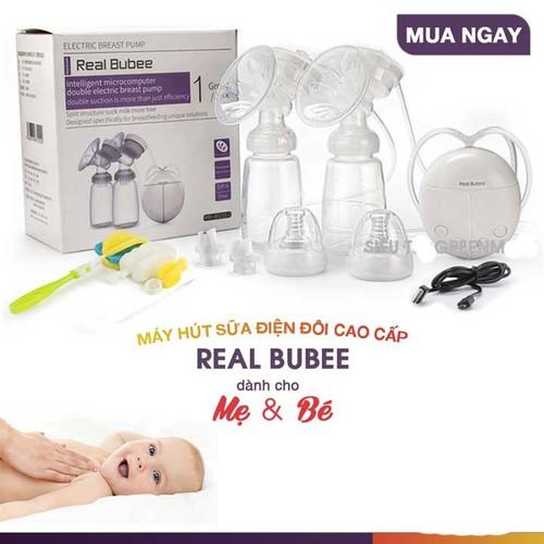 Máy Hút Sữa Điện Đôi Real Bubee Vương Quốc Anh - 5932750 , 12447120 , 15_12447120 , 500000 , May-Hut-Sua-Dien-Doi-Real-Bubee-Vuong-Quoc-Anh-15_12447120 , sendo.vn , Máy Hút Sữa Điện Đôi Real Bubee Vương Quốc Anh