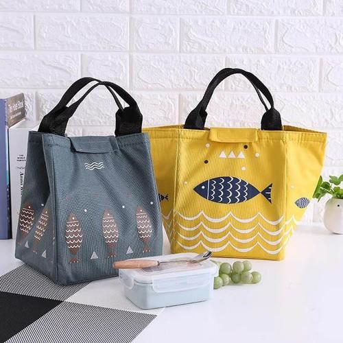 Túi giữ nhiệt đựng đồ ăn tiện dụng có quai xách
