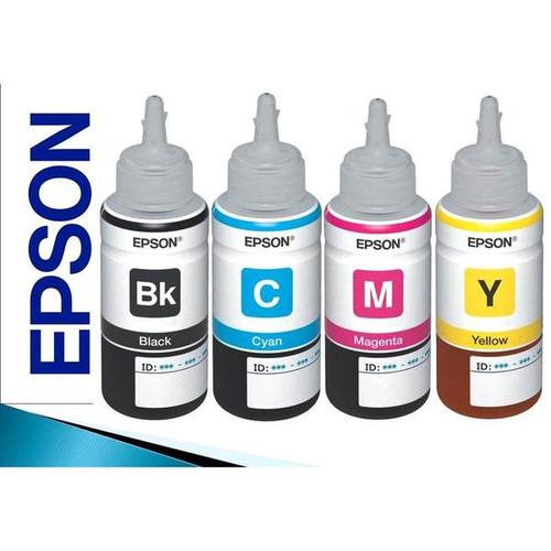 Bộ mực in phun 4 màu cho máy Epson L300, L310, L350, L355, L360,L385 - 5940812 , 12454478 , 15_12454478 , 500000 , Bo-muc-in-phun-4-mau-cho-may-Epson-L300-L310-L350-L355-L360L385-15_12454478 , sendo.vn , Bộ mực in phun 4 màu cho máy Epson L300, L310, L350, L355, L360,L385