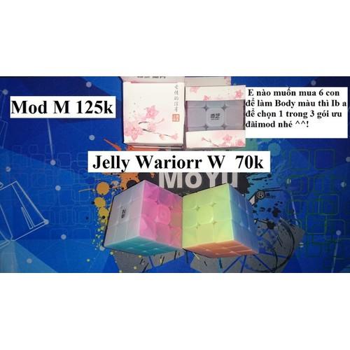 Rubik 3x3x3. Qiyi Jelly Warrior W Mod M - 5943239 , 12457129 , 15_12457129 , 125000 , Rubik-3x3x3.-Qiyi-Jelly-Warrior-W-Mod-M-15_12457129 , sendo.vn , Rubik 3x3x3. Qiyi Jelly Warrior W Mod M