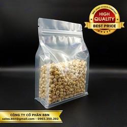 1kg Túi Zipper 2 Mặt Trong Đáy Đứng Full Size - Đựng Cà Phê, Trà, Đồ Sấy Khô, Các Loại Bột Hạt