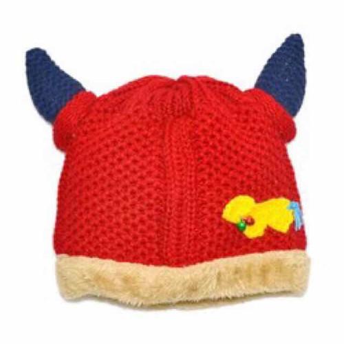 mũ len tai bò lót lông 1 đến 3 tuổi